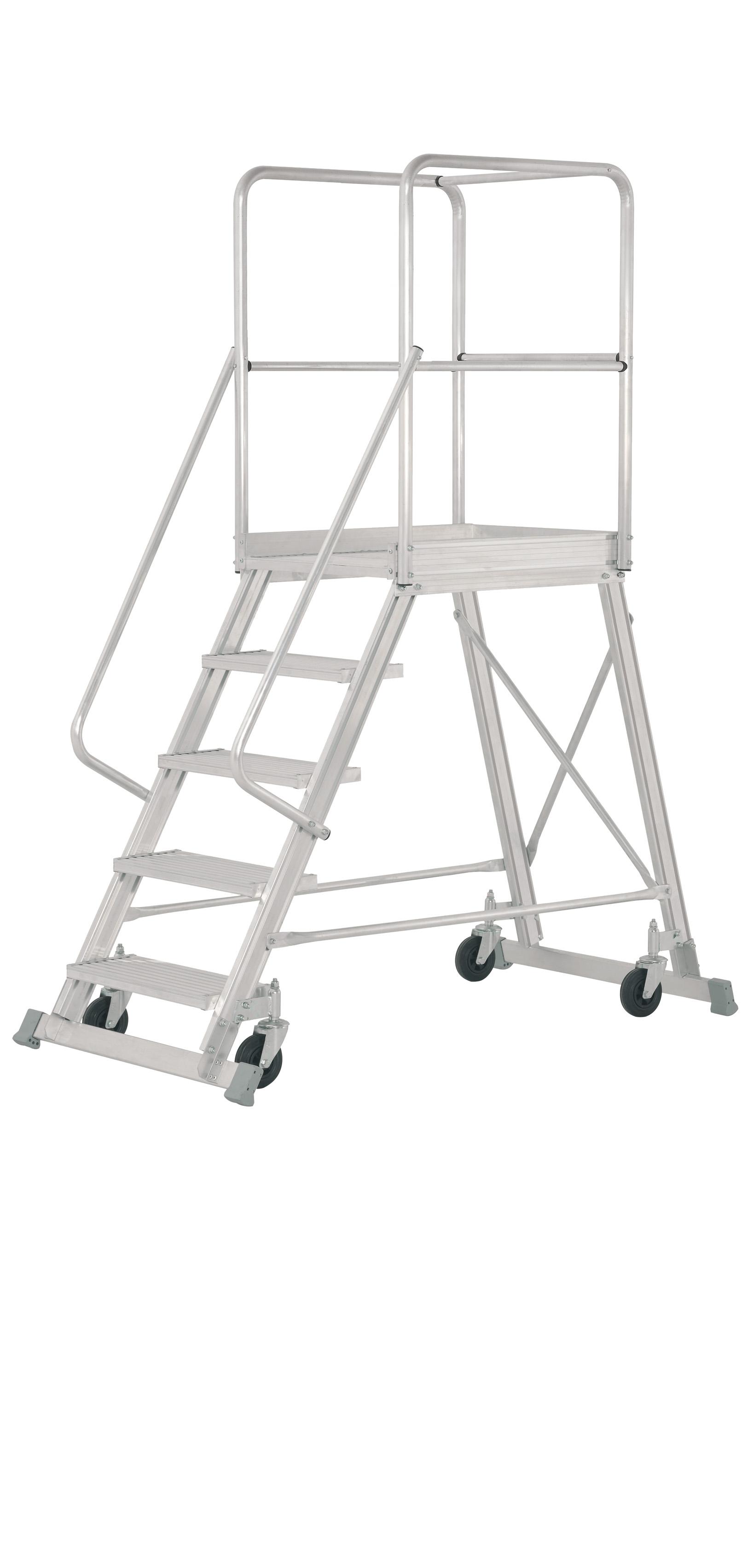 chelle plate forme roulante en aluminium escaleras arizona. Black Bedroom Furniture Sets. Home Design Ideas